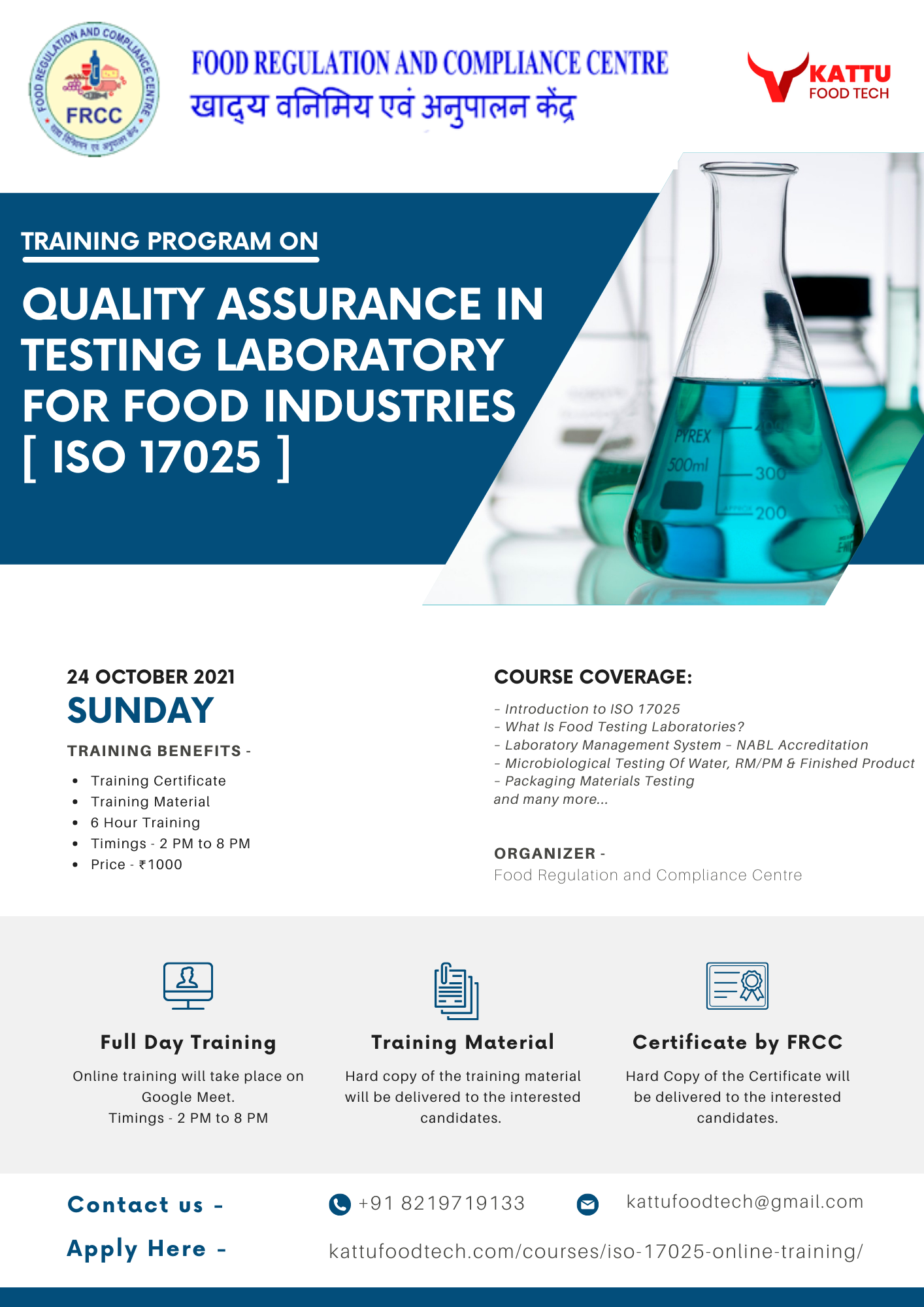 QUALITY ASSURANCE IN TESTING LABORATORY AS PER ISO 17025