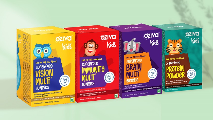 OZiva enters into kid's nutrition segment - Food News - 26-10-2021
