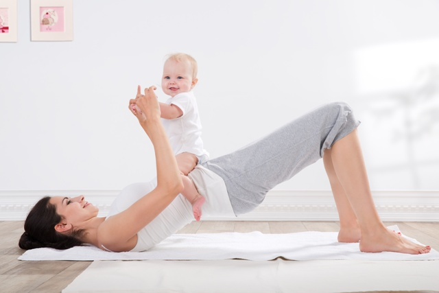 Losing belly fat after pregnancy: 1) Postpartum Exercises