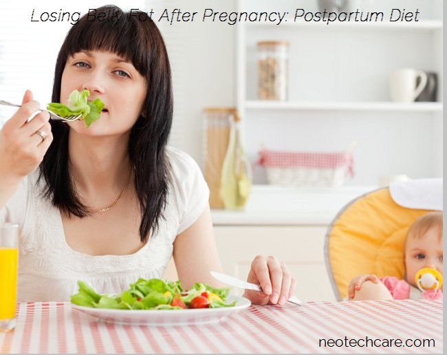 Losing Belly Fat After Pregnancy – 2) Postpartum Diet