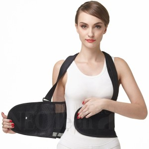 NEOtech Care Breathable Back Brace with suspenders U086  3w