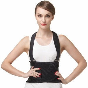 NEOtech Care Breathable Back Brace with suspenders U086  5w