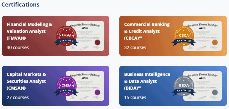 CFI Certifications