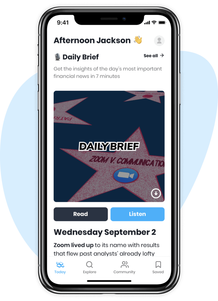 Finimize Daily Brief