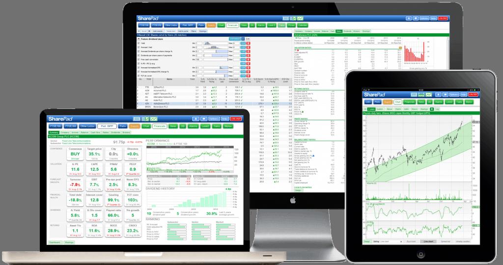SharePad Screens