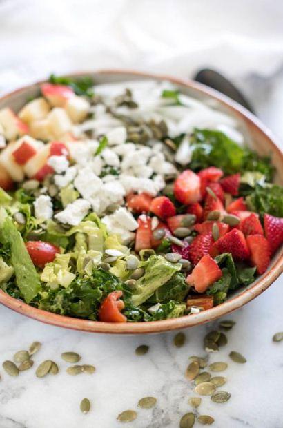 Mix Green Herb Salad