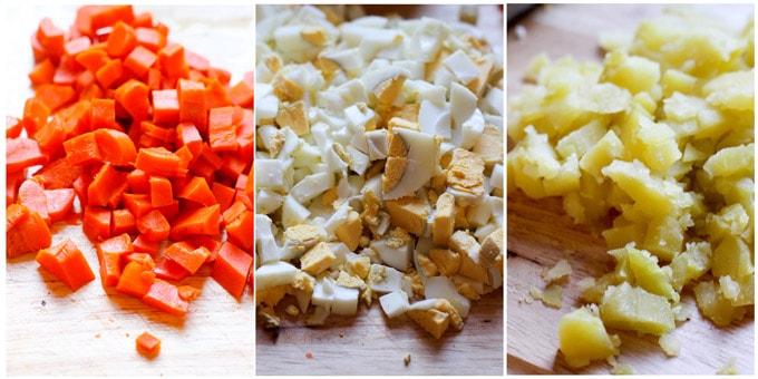 Russian-salad ingredients 3