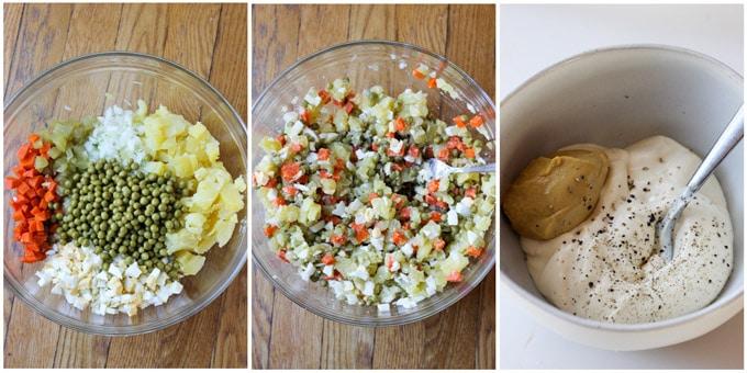 Russian-salad ingredients 4