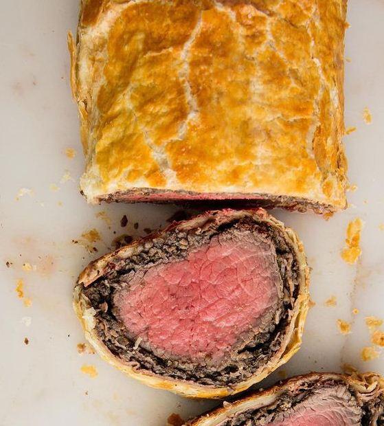 beef tenderloin wellington