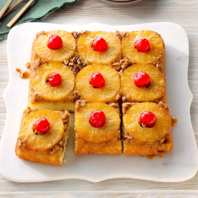 Classic Pineapple Upside-Down Cake 1