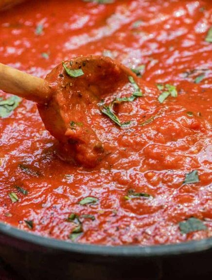 Easy Marinara Sauce 4
