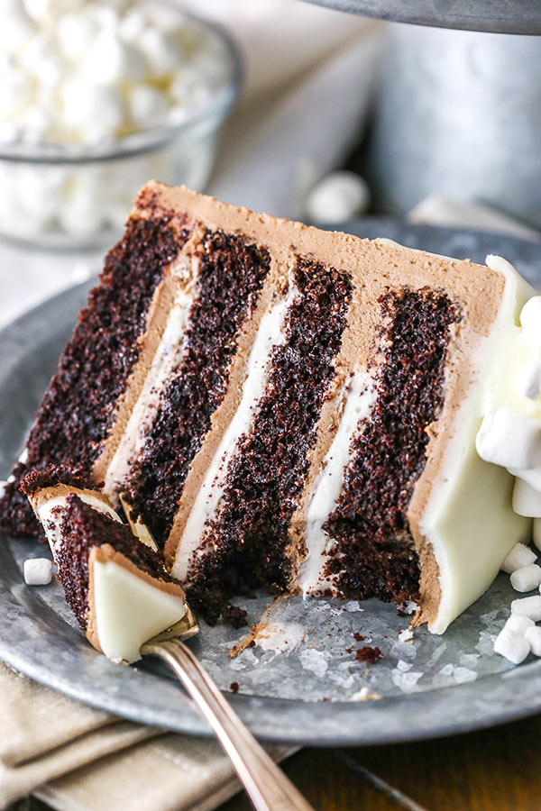 HOT CHOCOLATE CAKE 4