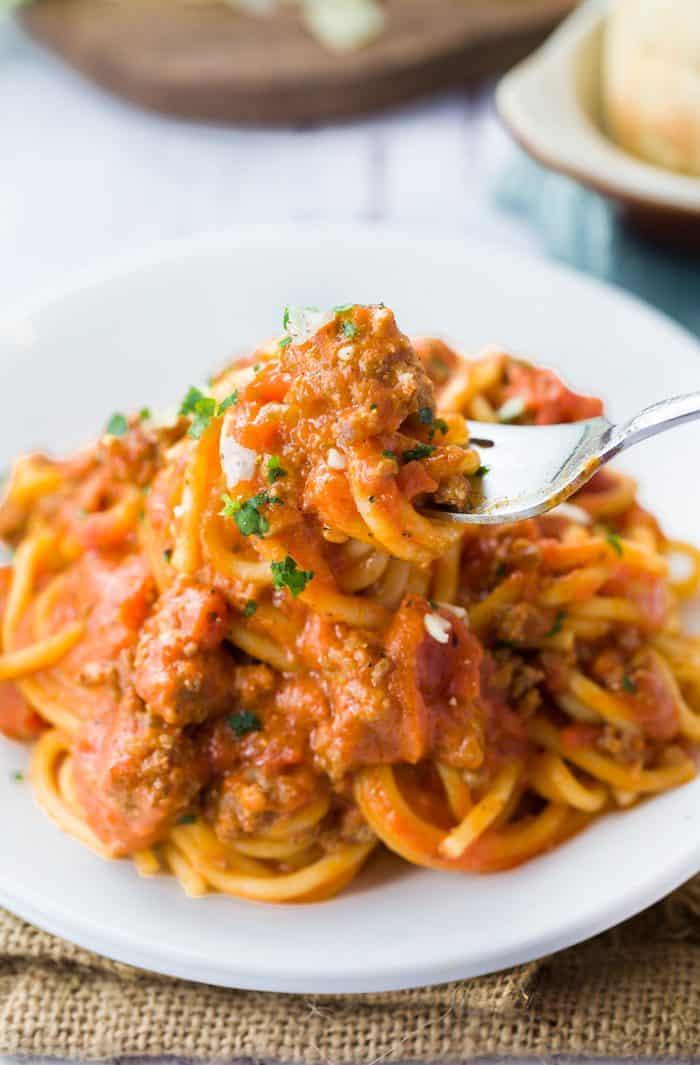 Instant-Pot-Spaghetti-meat-sauce