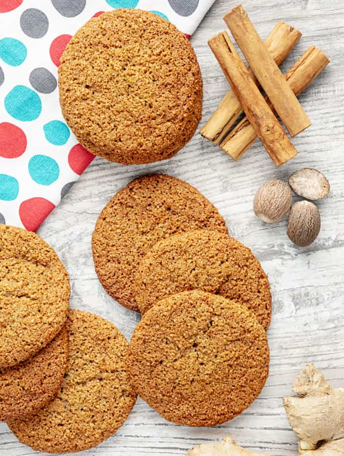 KETO GINGER COOKIE RECIPE 4