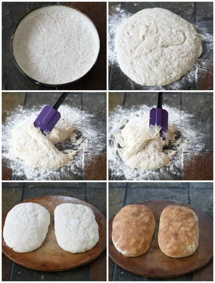 Making Ciabatta Bread
