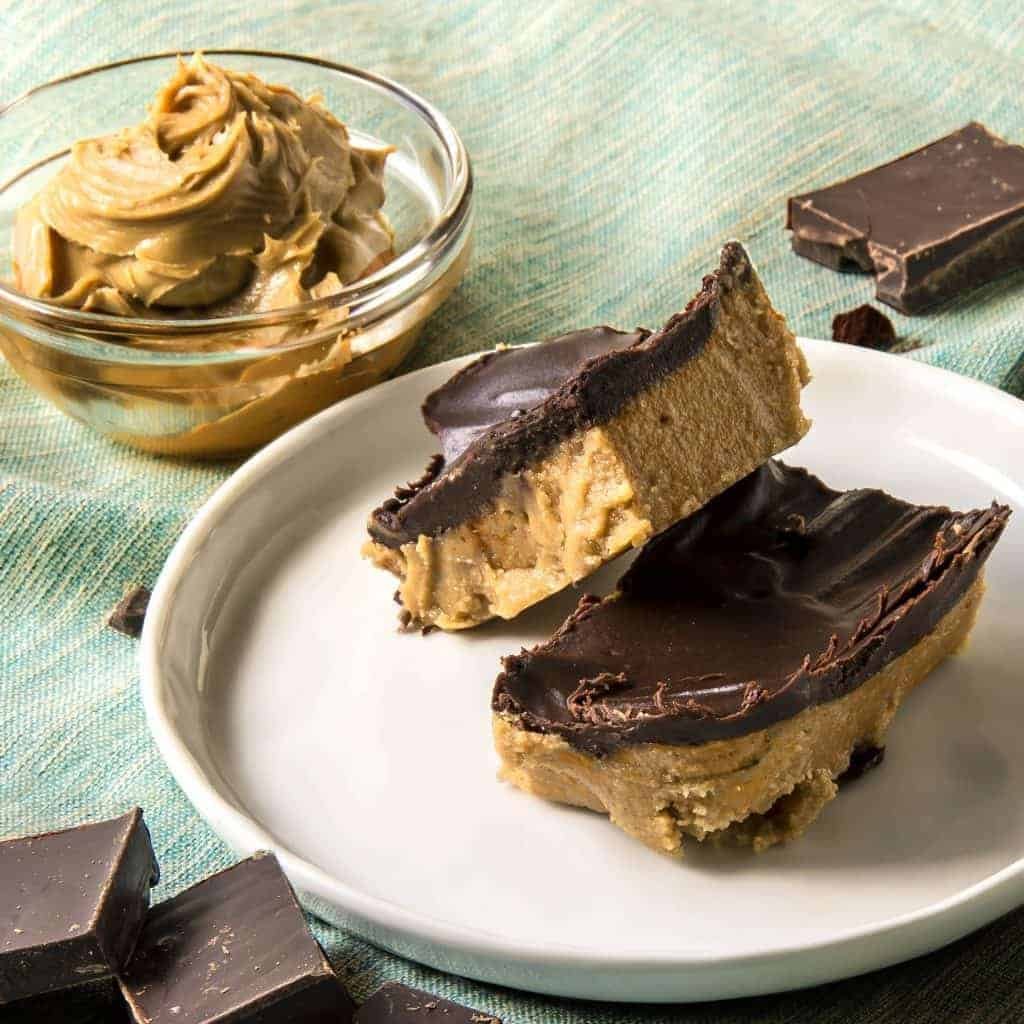 PEANUT BUTTER CHOCOLATE BARS 1