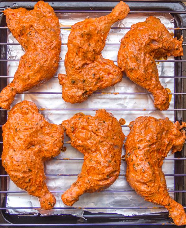Restaurant Style Tandoori Chicken 2