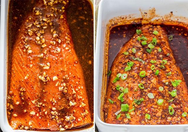 firecracker baked salmon marination
