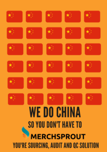 We do china so you don't have to