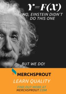 Albert Einstein Quality Merchsprout