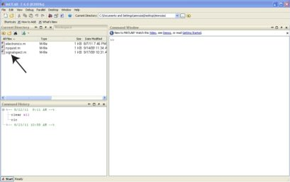 5. All function files must be in the current directory of Matlab