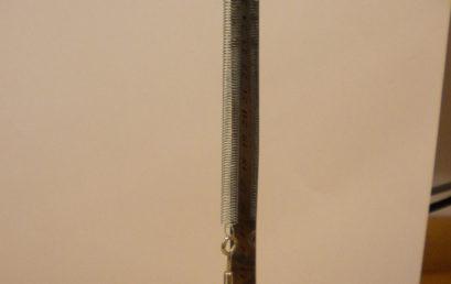 5. Adding weight in a mass hanger