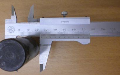 4. Measuring the diameter of a cylinder