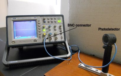 8. Connecting a photodetector to the digital oscilloscope