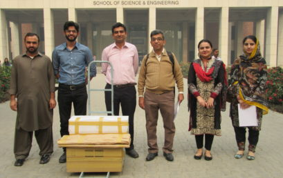 Physlab shares educational technology with NUST