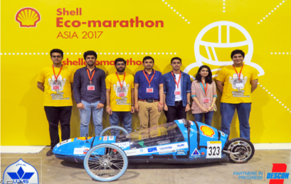 LUMS first Shell Eco Marathon Team