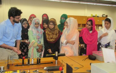Government College Sahiwal visits Physlab