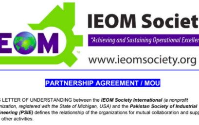 Team member of Physlab, forms partnership between PSIE and IEOM