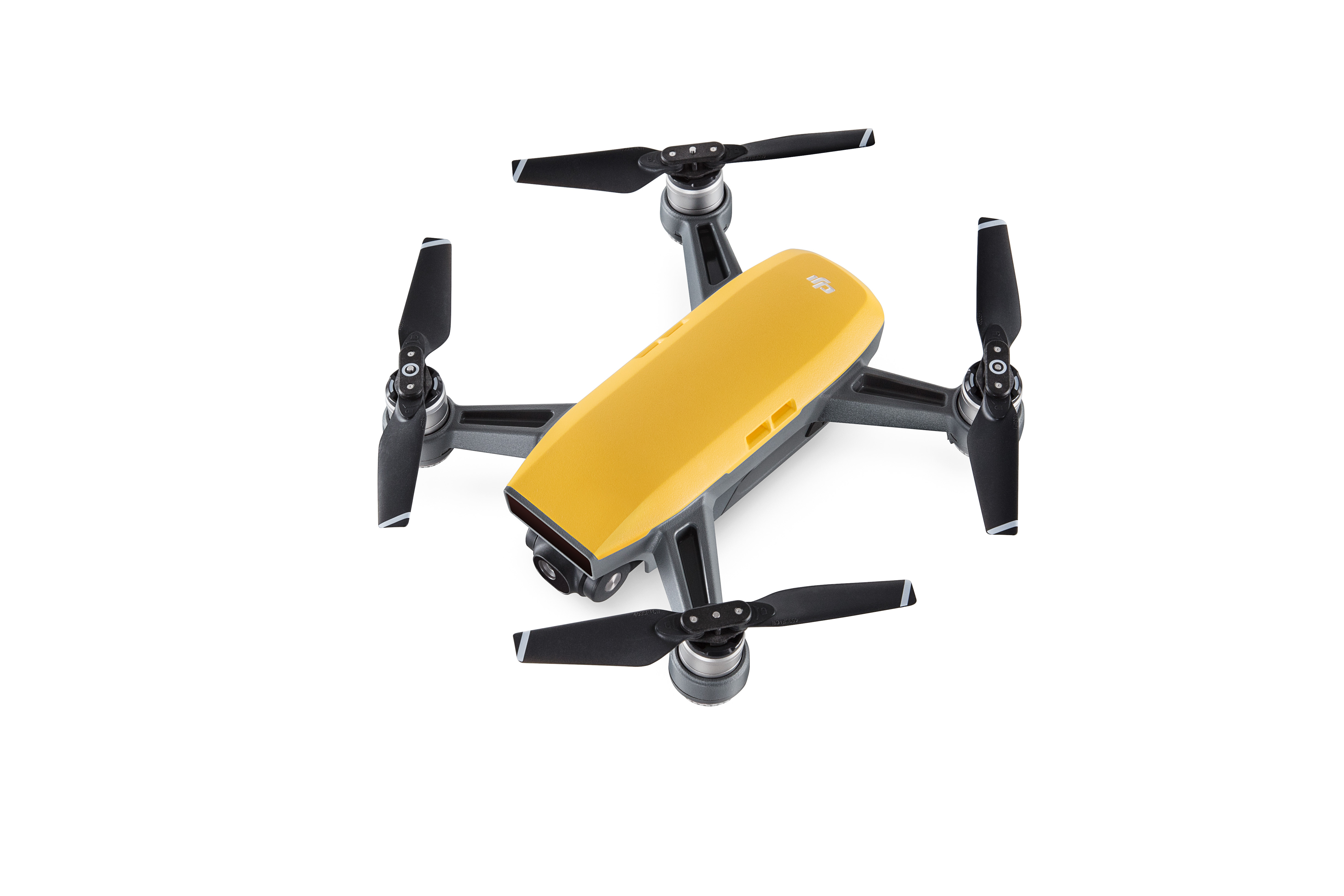 dji spark in sunrise yellow