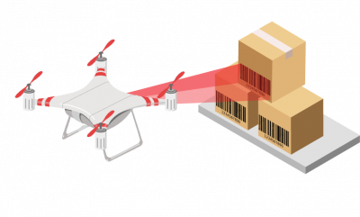 Using drones for automation – Warehousing