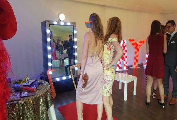 Magic Mirror for graduation ball event