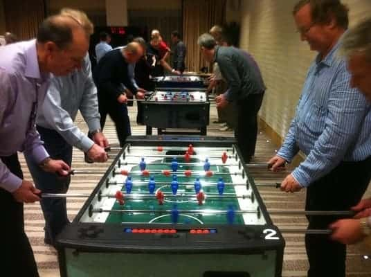 Table Football to hire in London