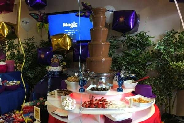 Book a photo booth for a celebration
