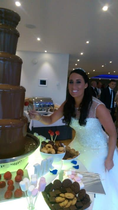 Lensbury hotel and club chocolate fountain to hire