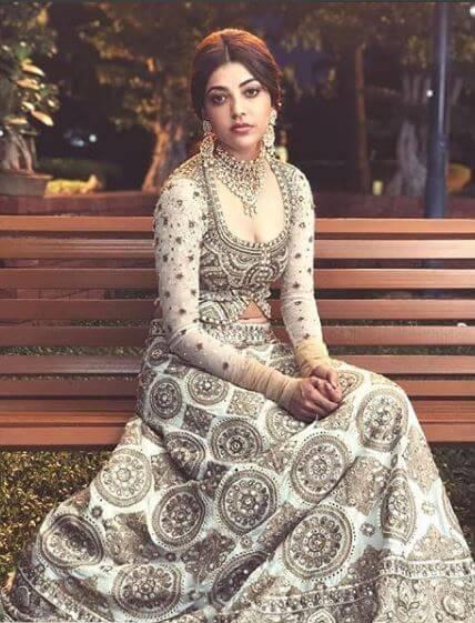 kajal agarwal Gorgeous in Bridal look
