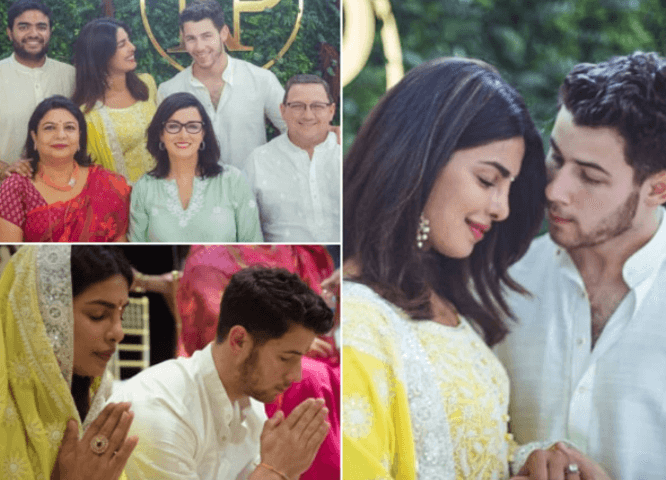 priyanka and Nick wedding bells