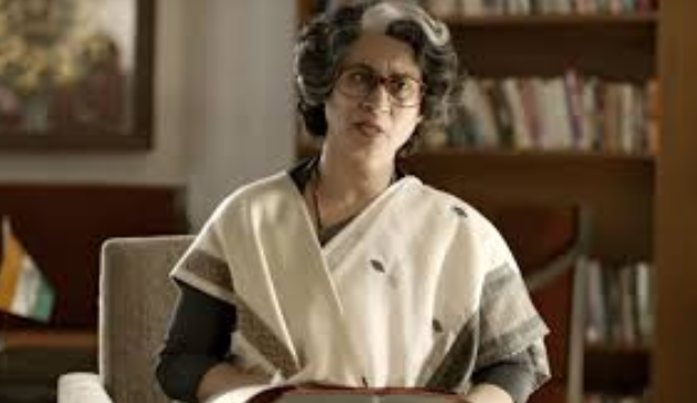 supriya vinod as Indira gandi in Ntr Biopic coverpic
