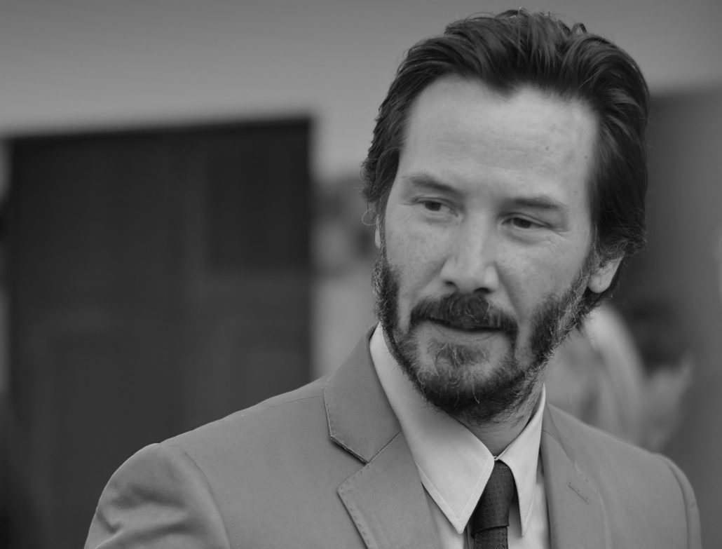 Keanu reeves , actor of john wick series