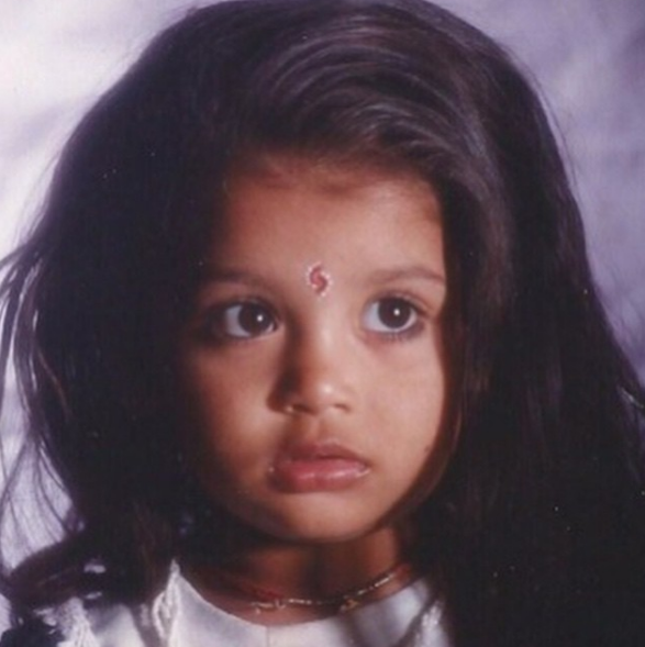 Digangana Suryavanshi child hood pic