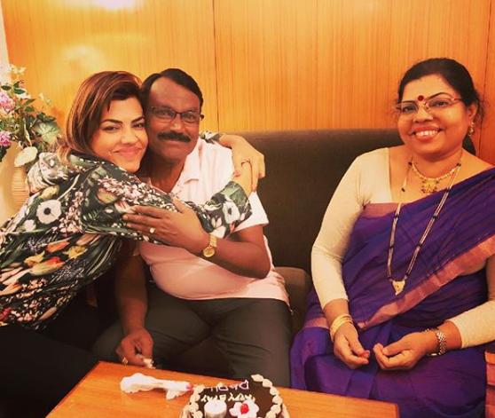 Simran Mishrikoti family
