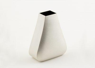 Curved Blown Vase