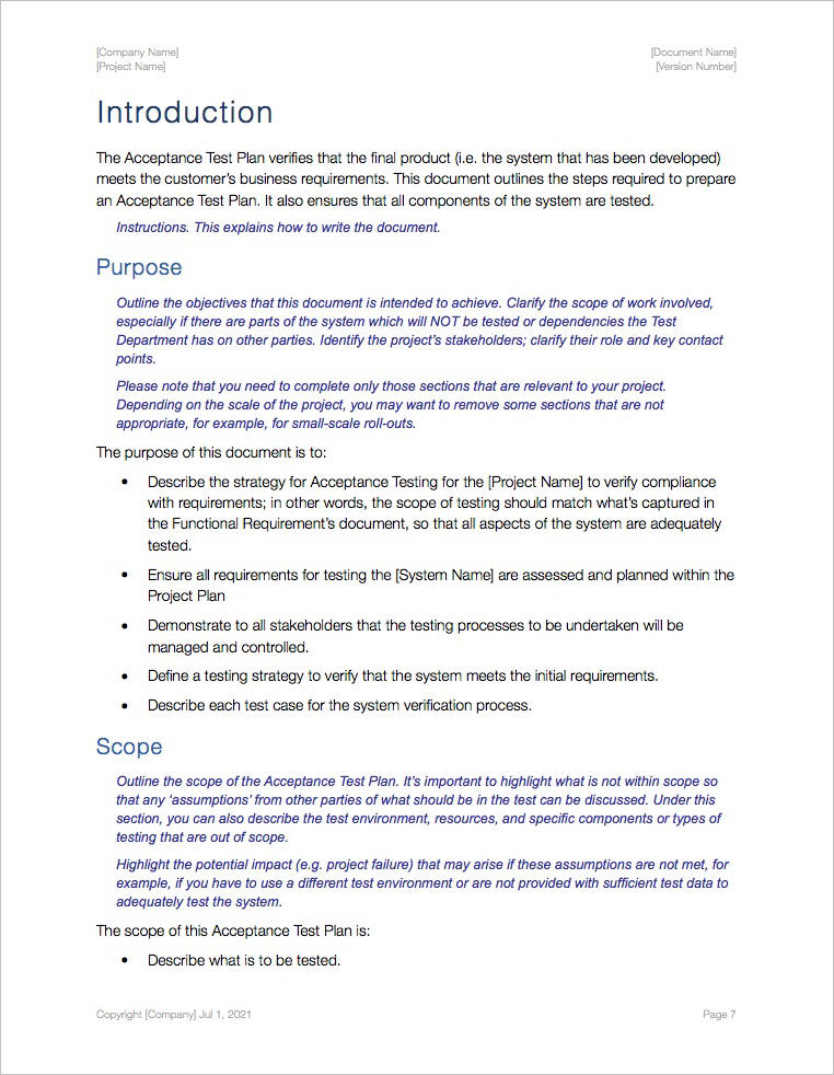 Acceptance-Test-Plan-Template-Apple-iWork-Pages-Introduction