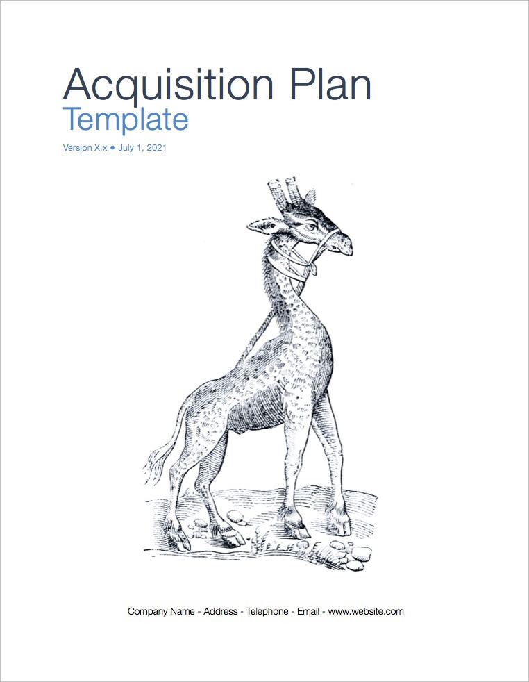 Acquisition_Plan_Template-coverpage