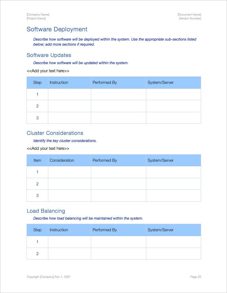 Availability_Plan_Template_Apple_iWork_Pages_Software_Deployment