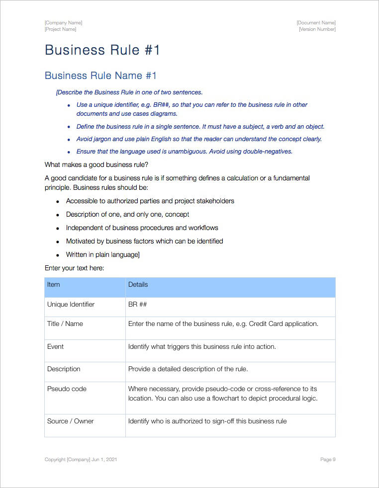 Business_Rules_Apple_iWork_Pages_Template_Example