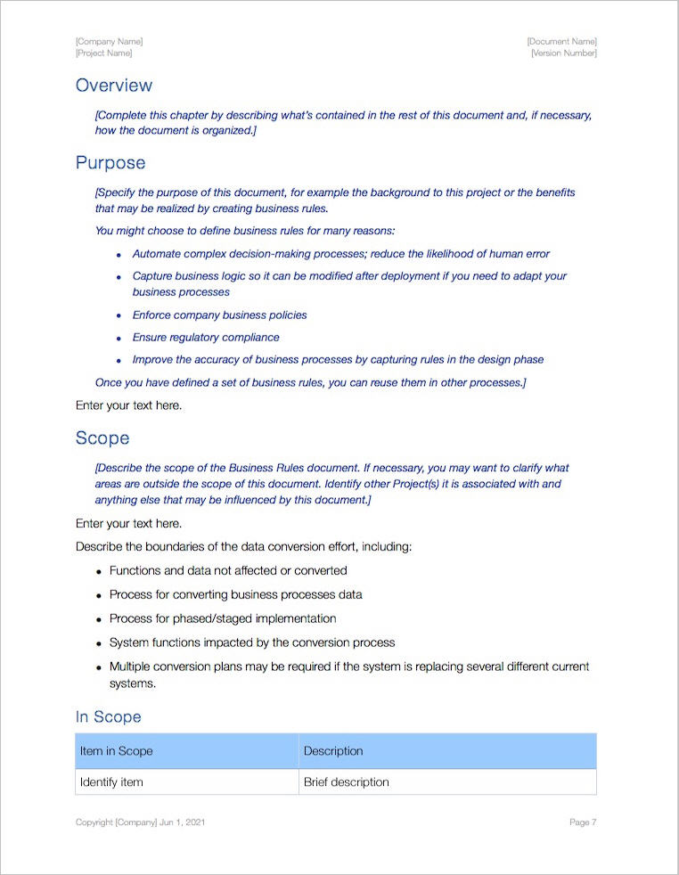 Business_Rules_Apple_iWork_Pages_Template_Overview